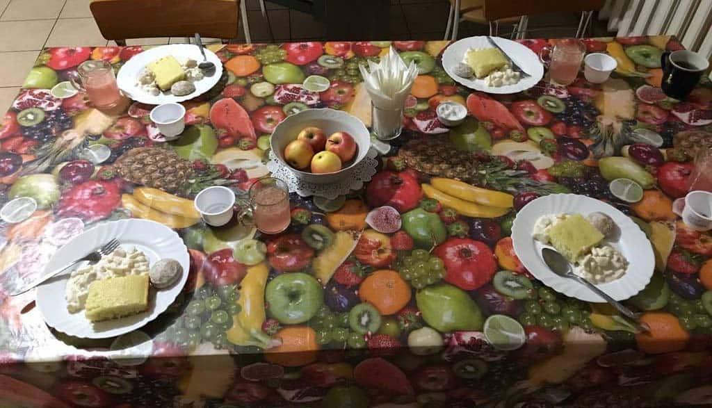 Ужин в доме престарелых