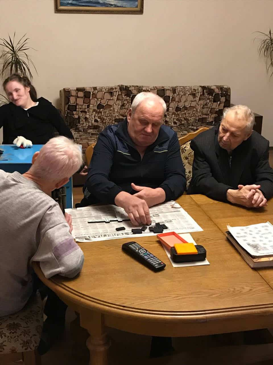 Досуг в доме престарелых