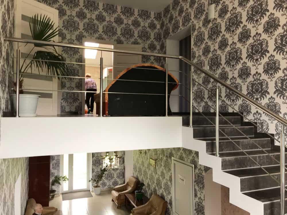 интерьер частного дома престарелых