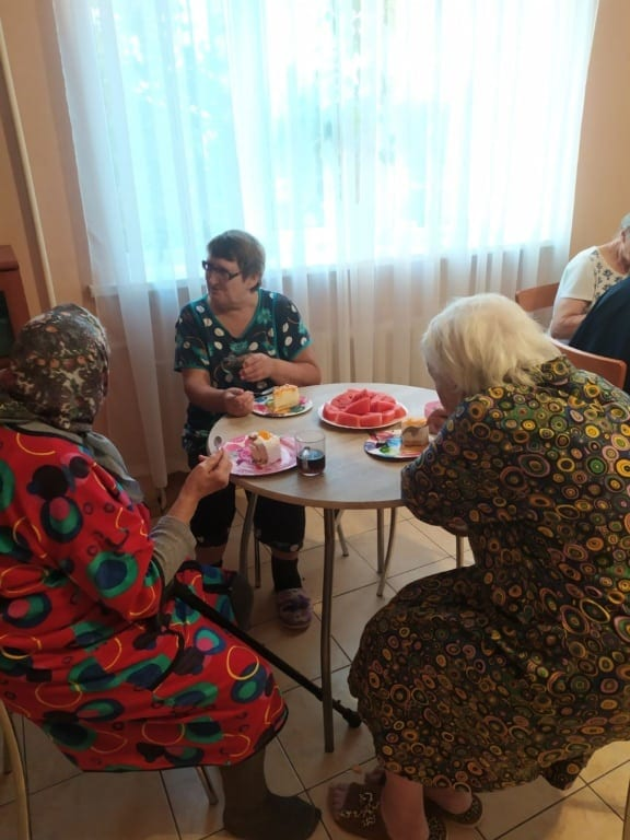 Дом престарелых в Гомеле