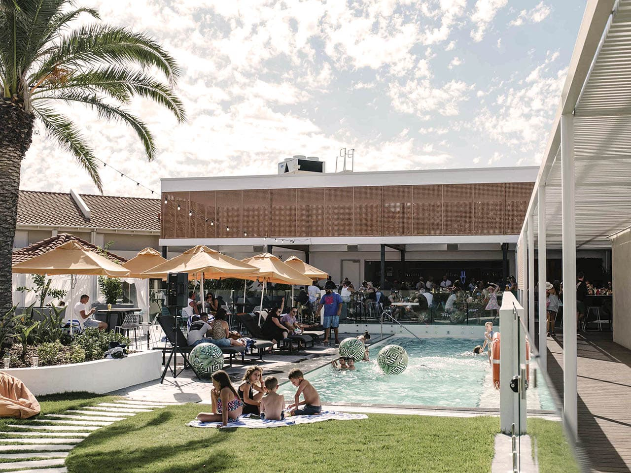Pool venue hire