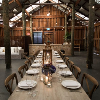 Barn private dining