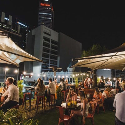 Perth rooftop venue