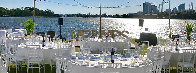 Wedding by Swan River