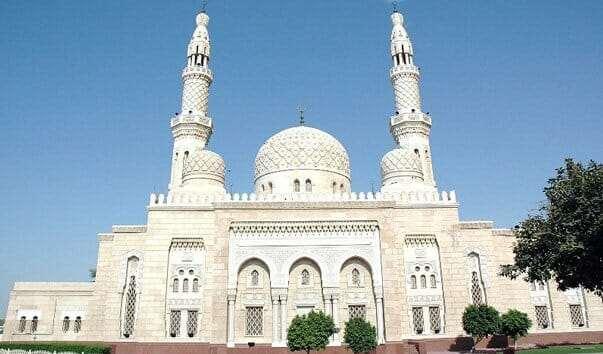 Мечеть джумейра в дубае