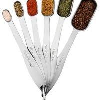 Set of 6 Measuring Spoons