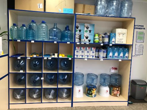магазин по доставке качественной питьевой бутилированной воды в Черкассах от компании Вода плюс