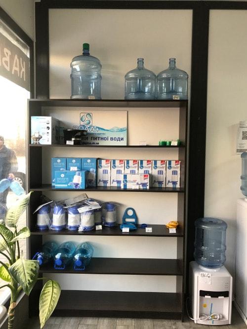 Фото магазина питьевой воды на разлив в Черкассах Вода плюс