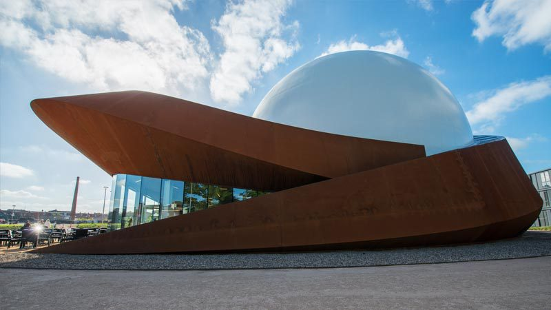 Infoversum planetarium in Gorningen, Netherlands