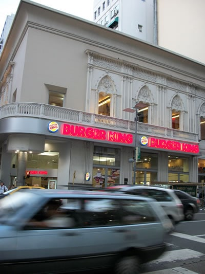 The World's Most Elegant Burger King