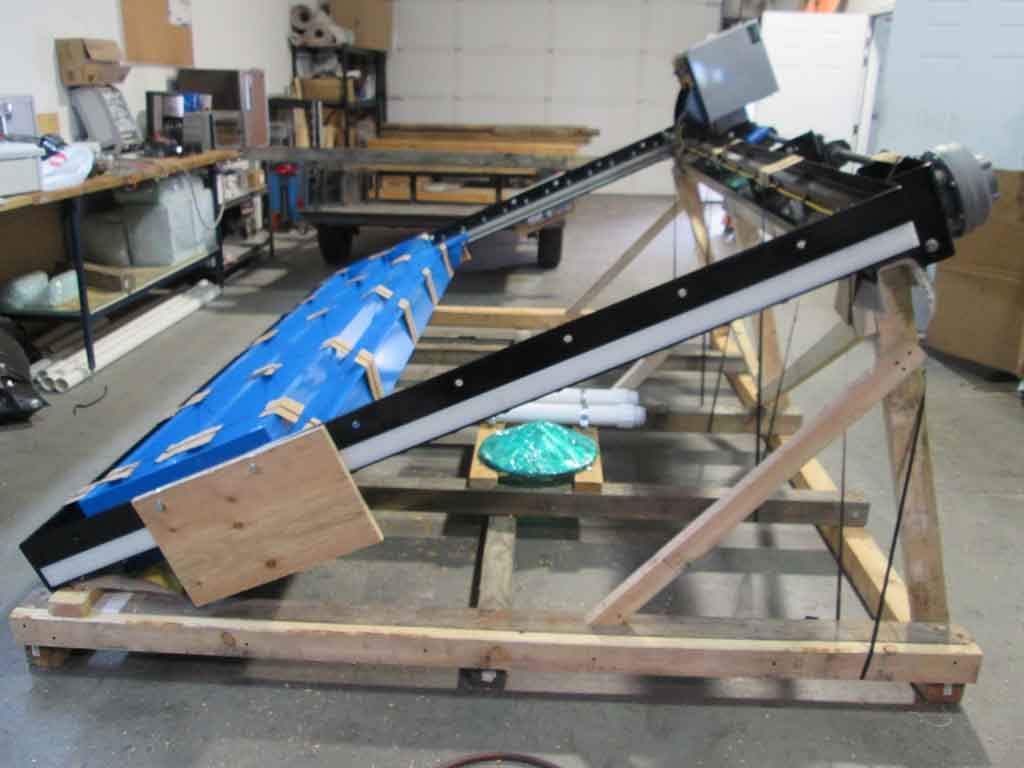 Palletized Double Stem Sluice Gate