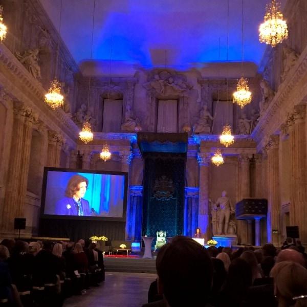 Die Welcome-App als Teilnehmer beim GlobalChildForum in Stockholm