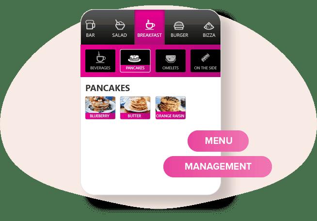 easy menu management