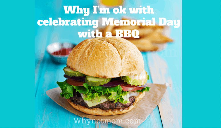 Is it really okay to celebrate Memorial Day with a BBQ?