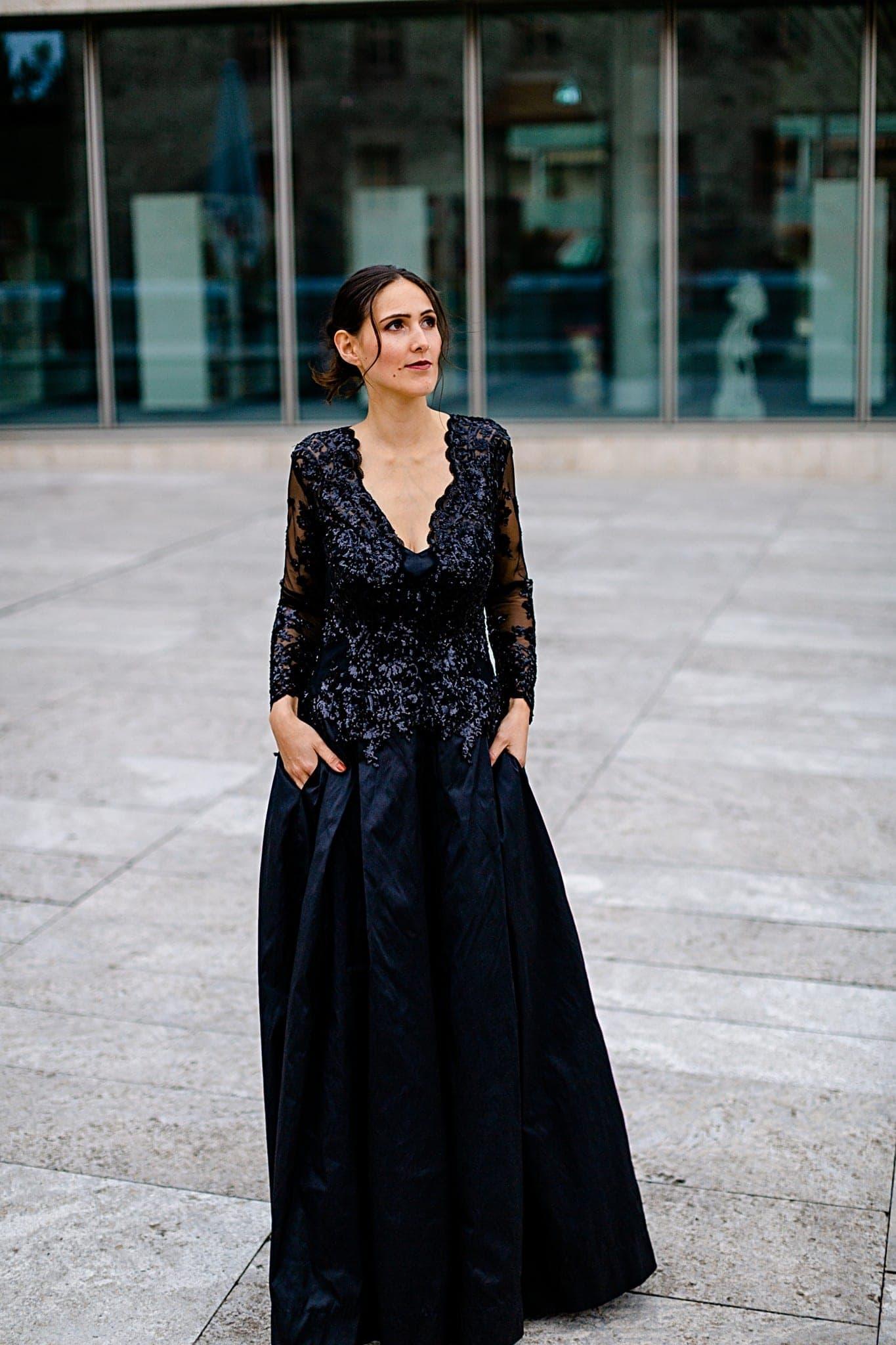 Wilmas Kleid - Abendmode (Foto: Jana Köhler)