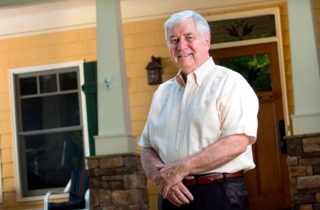 Brenau Trustee David Seng at home in Dahlonega, Georgia.