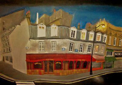 París, Quartier Saint-Martin. Chez Papa.