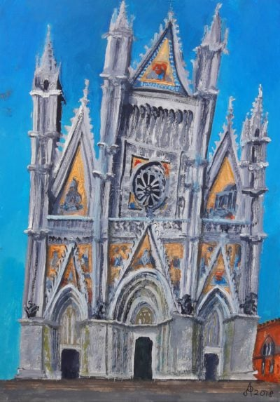 Duomo di Orvieto, 2018.