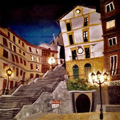 Bilbao, Casco Viejo.