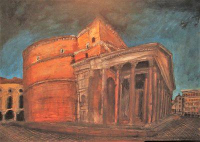 Roma III. Panteón de Agripa. 2016.