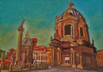 Roma II. Columna Trajana. 2016.