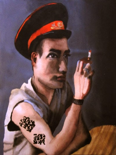 Retrato de Pablo.