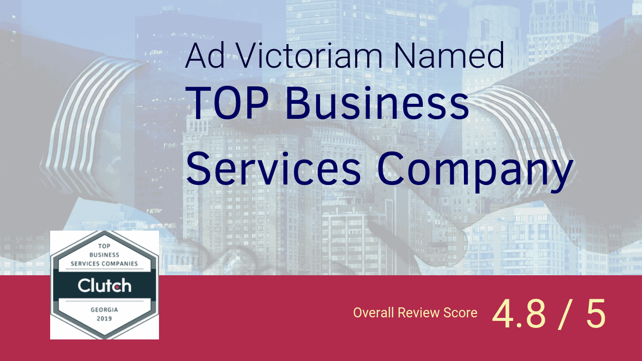 Cluch Awards Ad Victoriam Top Business Services