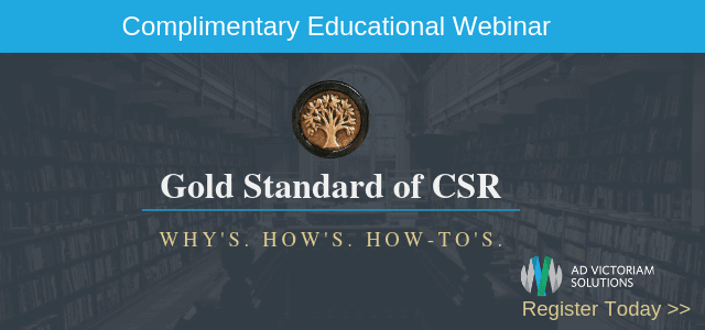 Gold Standard of CSR Webinar