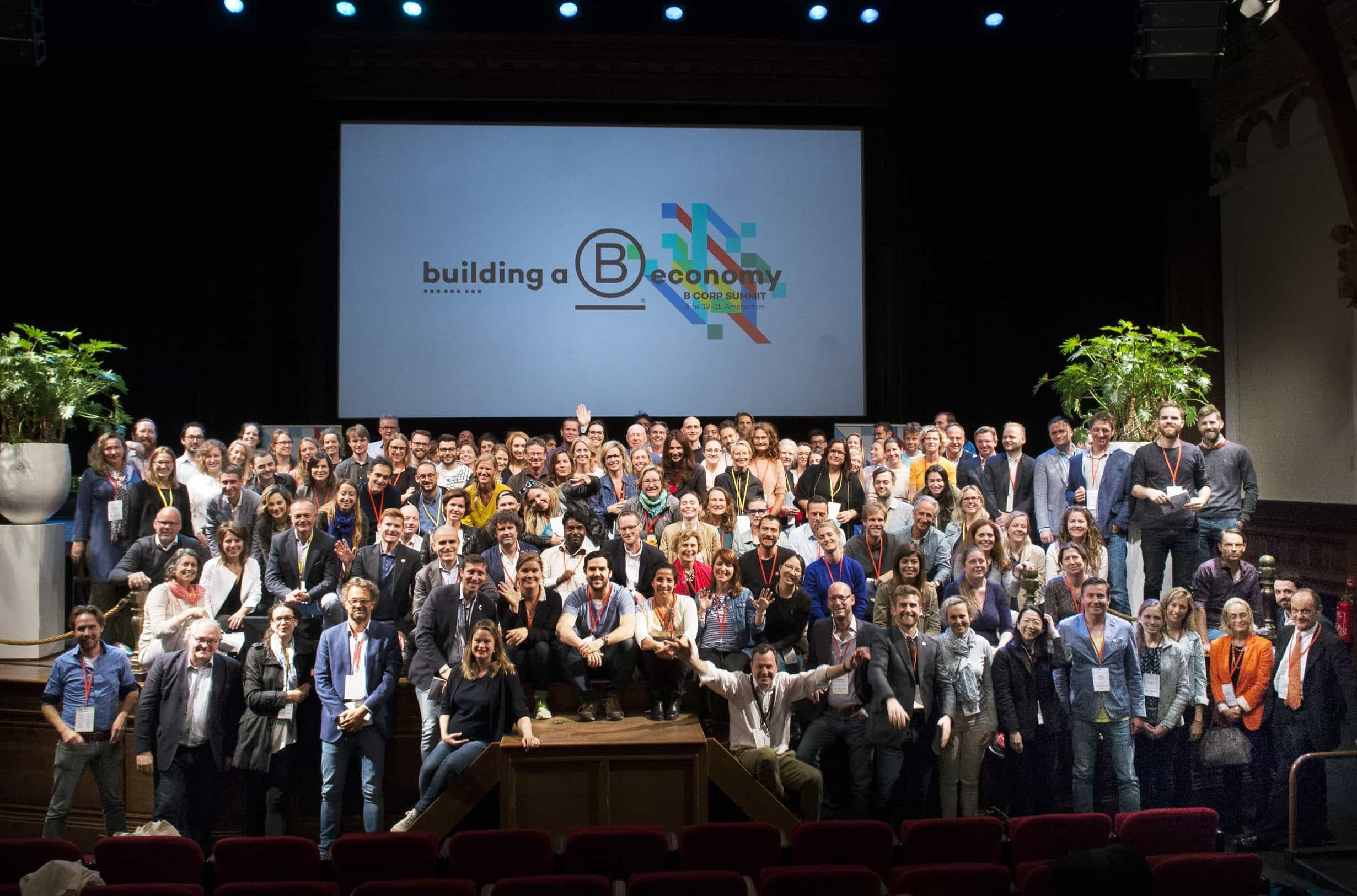Group shot from the recent 2019 B Summit in Amsterdam