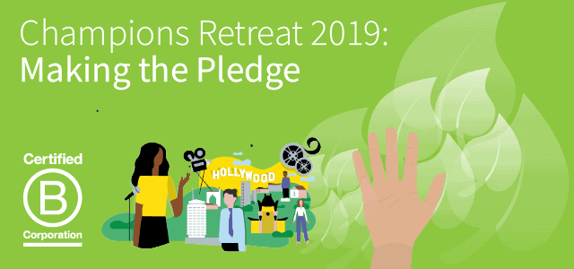 Champions Retreat 2019: Making the Pledge