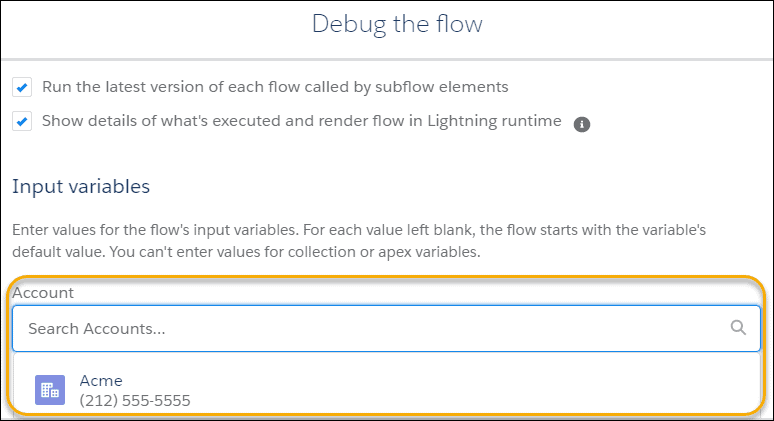 Debug the Flow - Salesforce 2020 Summer Release