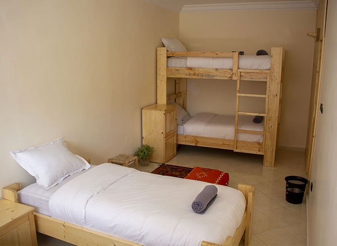 Budget 4 beds room in Imsouane
