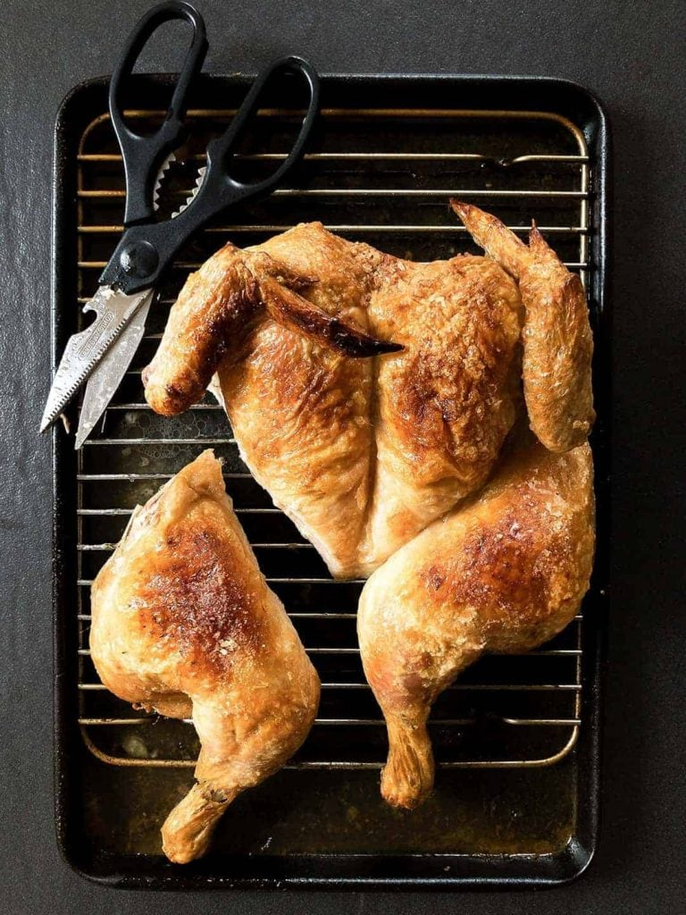 Oven Roasted Chicken - Spatchcock