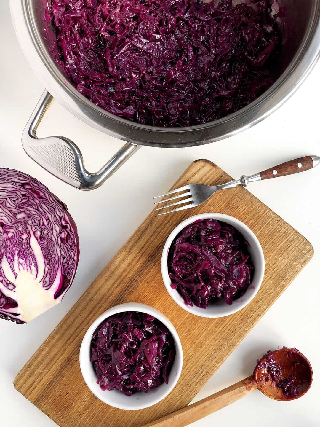 Braised Red Cabbage Side Dish