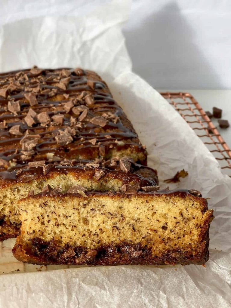 Banana and Chocolate Chip Loaf