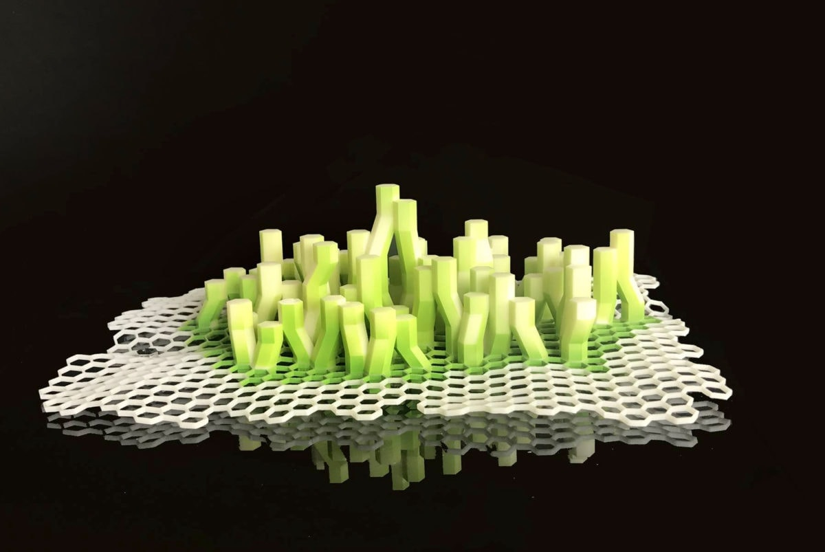 maquette prototype de X-SEA-TY par XTU architectes