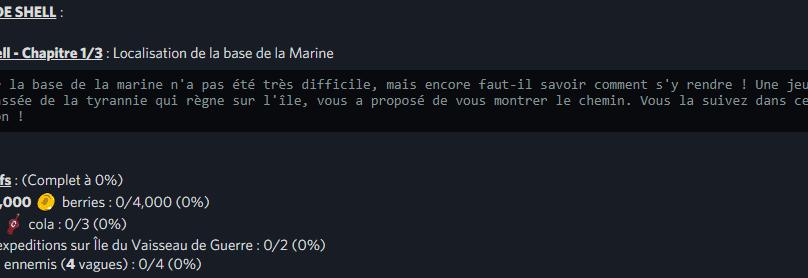VILLE DE SHELL / Arc Shell – Chapitre 1/3
