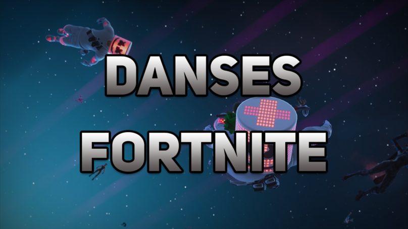 Bas les masques Fortnite, danse Fortnite