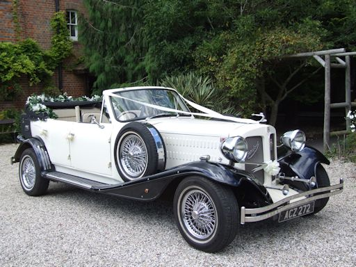 Beauford wedding car