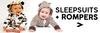 Baby Sleepsuits Boys, Girl Rompers & Cute Baby Onesies Outfits