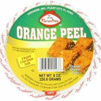 Paradise Diced Peel, Orange, 8 Ounce