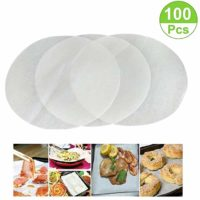 (Set of 100) Non-Stick Round Parchment Paper 8 Inch