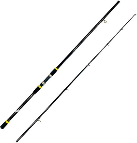 EatMyTackle 2 Piece Surf Fishing Rod