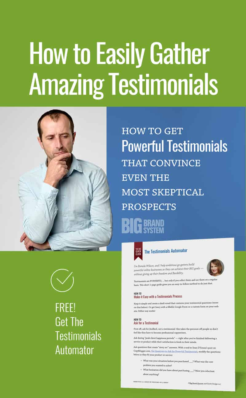 Wondering how to get amazing client testimonial reviews to help market your #onlinebusiness? Follow the simple testimonial template in this post. And grab the FREE Testimonials Automator! #onlinemarketing #onlinebusinesstips