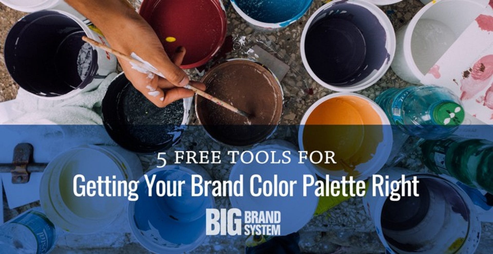 5 free tools for getting your brand color palette right