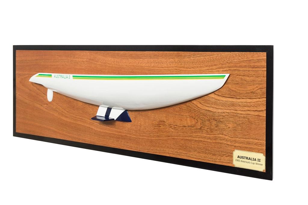 Australia II Half Hull Replica 90cm from boatguard.com.au