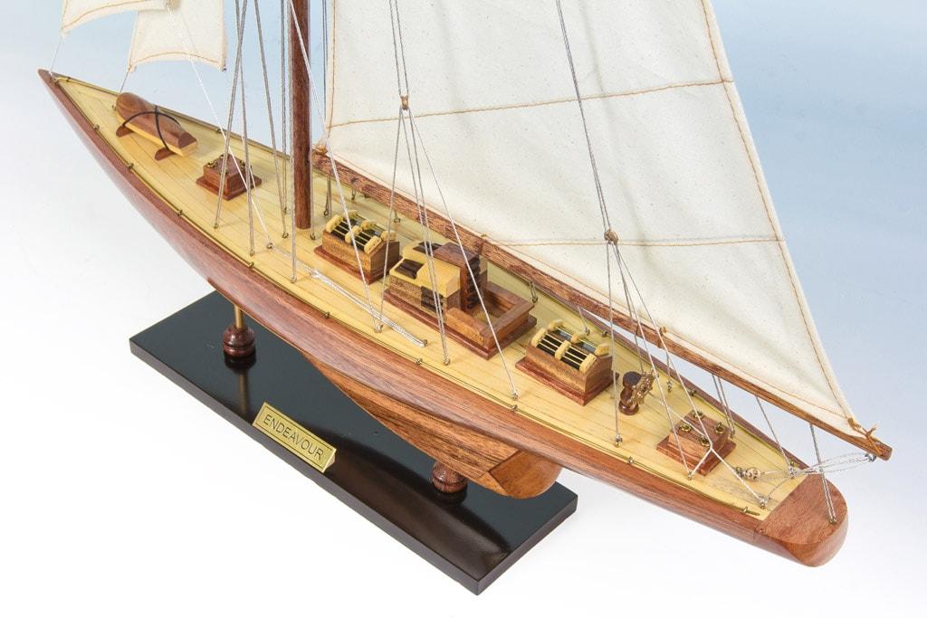 Endeavour Replica Model Boat 60cm from boatguard.com.au