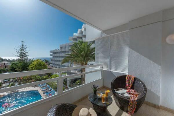 TENERIFE Bright apartment with sea view, free wifi, air conditioning