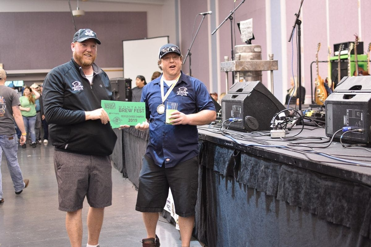 Black Eagle Brewery is the people's choice winner for the 2nd consecutive year at the 2019 Montana Brew Fest