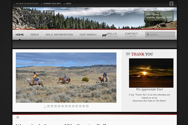 Paint Rock Angus Ranch Home